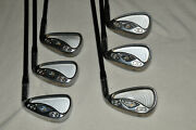 Taylormade R7 Cgb Max Partial Set Graphite - 3,4,6,8,9,pw -missing 5 And 7 Irons