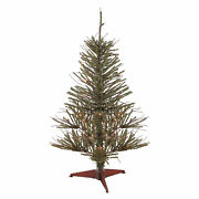 Northlight 3' Vienna Twig Table Top Artificial Christmas Tree - Clear Lights