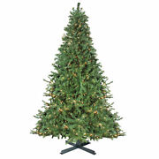 Northlight 15and039 2-tone Canadian Pine Artificial Christmas Tree Warm White Lights
