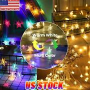 Led Stars Fairy String Lights Changeable Remoteandtimer Dimmable Waterproof Lights