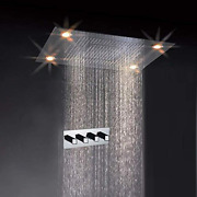 Cascada Classic Design 31 Inch 600mmx800mm Large Rain Shower Set With Waterfal