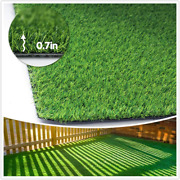 Conscience Trading Artificial Grass Synthetic Lawn 0.7 Custom Sizes -13ftx79f