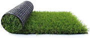 Fas Home Artificial Grass Turf 1.38 Custom Sizesfake Grass Indoor/outdoor Rug