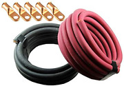 Crimp Supply Ultra-flexible Car Battery/welding Cable - 4/0 Gauge 100 Feet Red