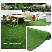 Fas Home Artificial Grass Rug 0.4 Customized Sizes,fake Grass Turf Mat Syntheti