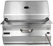 Firemagic Charcoal Legacy Built In Grill Grill W 24 In. Smoker Hood