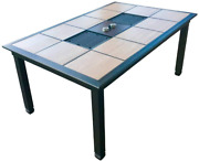 Generations Patio Table Grill | Korean Bbq | Raclette Style Outdoor Patio Table