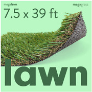 Megagrass Artificial Grass Mat For Lawn/deluxe Realistic Synthetic Turf Rug [thi