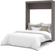 Bestar Nebula Collection Queen Murphy Bed Space Saving Solution