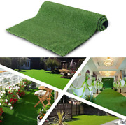 Artificial Grass Turf Area Rug - Grass Height 0.4 - Size 13ftx53ft - Perfect
