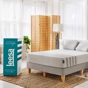 Leesa Hybrid 11 Mattress Memory Foam Bed-in-a-box King Size White And Gray