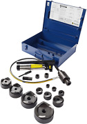 Current Tools 154pm Hydraulic Knockout Set - 1/2 - 4 Punch Driver Kit With Pie