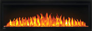 Napoleon Entice Series Wall Hanging Electric Fireplace 50 Inch Black