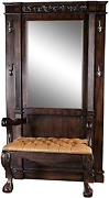 Design Toscano The The Regentand039s Park Mahogany Hall Stand 44wx21.5dx79.5h 180