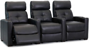 Cloud Xs850 - Octane Seating - Home Theatre Chairs - Black Bonded Leather - Manu