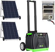 Nature's Generator Elite Gold - Pe System3600w Solar And Wind Powered Pure Sine W
