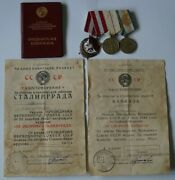 Ultra Rare Orders Duplicates And Medal Duplicate -with The Document