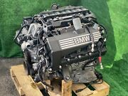 🔥 2008-2010 Bmw 550 650 4.8l N62 Awd Engine Motor Assembly 🔥low 82k Miles 🔥