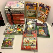 Huge Lot Of Leap Frog Leap Pad Books Cartridges Games New Leapster