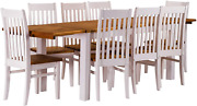 B.r.a.s.i.l.-mandoumlbel Tablechamp Dining Table Set Rio Eight Pine Chairs With Extens