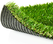 """Zgr Premium Artificial Grass 13' X 37' Outdoor Rug, 1.38"""" Realistic Thick Turf F"""