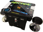 Creative Arcades Full Size Commercial Grade Cocktail Arcade Machine   2 Player  