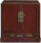 China Furniture Online Elmwood Oriental Cabinet He Hua Village Style In Distres