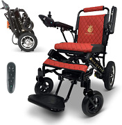 2021 New Lightweight Electric Wheelchair - Remote Control Electric Wheelchairs L