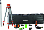 Johnson Level And Tool 40-6590 Horizontal/vertical Tracking Rotary Laser System