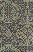 Kaleen Rugs Helena Hand-tufted Area Rug, Pewter, 10' X 14'