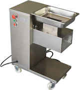 Huanyu 1100 Lb/h Commercial Meat Slicer Cutter Stainless Steel Deli Food And Fresh