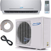 18000 Btu Mini Split Ductless Air Conditioner Andndash 23 Seer - 12andrsquo Lineset And Wiring -