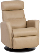 Divani Img Manual Swing Glider Relaxer Recliner Chair In Large In Trend Sand Lea