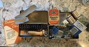 Vintage Meister Sewing Machine Parts, Bobbins, And Cams Made In Germany 1957