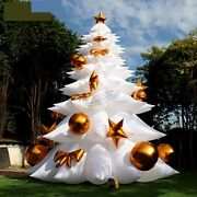 26ft Giant Inflatable Christmas Tree Yard Decor Lawn Airblown With Air Blower