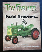 Toy Farmer Magazine July 2001 Pedal Tractors