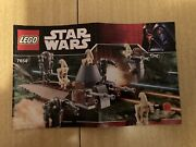 Rare Lego Star Wars Set 7654 Droids Battle Pack 100 Complete Used/no Box