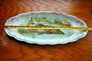 Sterling China Northern Pike Musky Fish Platter 21 Server Plate