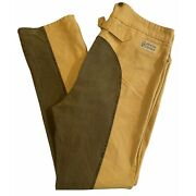 Frontier Classics Mens Cowboy Old West Western Button Fly Pants Size 40x35