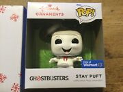 Mib Hallmark 2021 Ghostbusters Stay Puft Funko Pop Ornament Sold Out