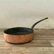 Large French Vintage France Saute Pan Copper Cookware 2110218