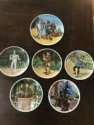 Knowles Collector Plates Wizard Of Oz Set Of Six