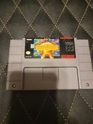 Earthbound Super Nintendo Snes 100 Authentic Saves And Works Great Cart Only