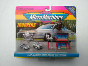 1994 Micro Machines Troopers Collection 42 Illinois State Police Collection New