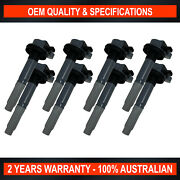 Pack Of Swan Ignition Coils For Ford Mustang Fm / Fn - Mf8f 5.0l