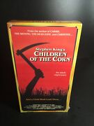 Children Of The Corn Vhs Tape Factory Sealed New Mint - Stephen King