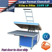 31inx 39in Large Format Manual Operation Hand Force Transfer Heat Press Machine