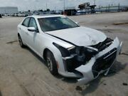 Driver Left Rear Side Door Tempered Glass Base Fits 14-18 Cts 1283831