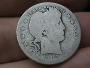 1903 O Silver Barber Quarter 25c- Lowball, Heavily Worn, Po1 Candidate