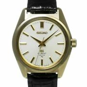 Seiko Grand Seiko High Beat Ref.4520 8000 Antique Menand039s Watch From Japan N1023